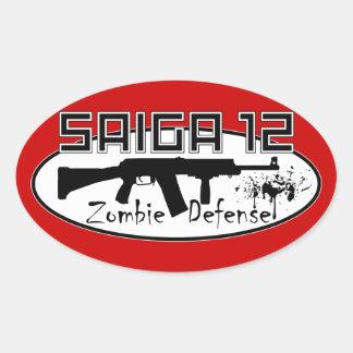 Saiga 12 - Zombie Defense Sticker