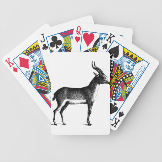 Saiga Antelope Bicycle Playing Cards