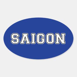 Saigon Oval Sticker