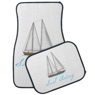 Sail Away Car Mat