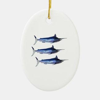 Sail Away Ceramic Ornament