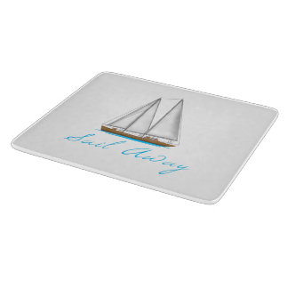 Sail Away Cutting Board
