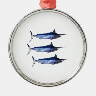 Sail Away Metal Ornament