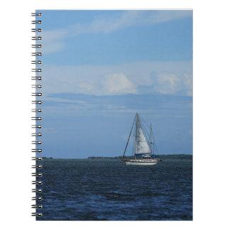 Sail Away Painterly Notebook