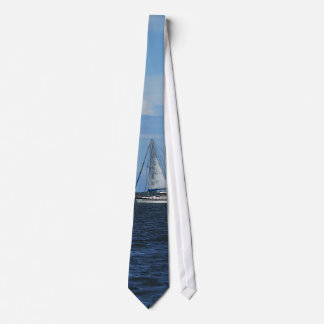 Sail Away Painterly Tie