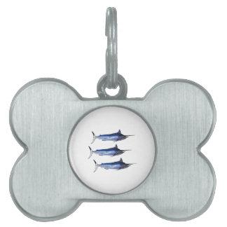 Sail Away Pet ID Tag