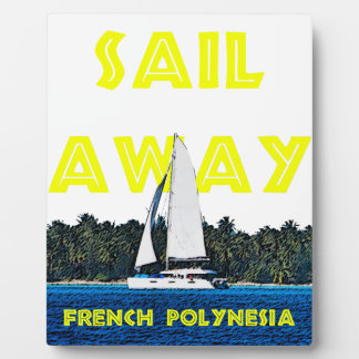 Sail Away Photo Plaque