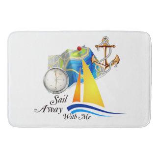 Sail Away With Me Bath Mat