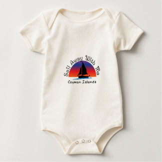 Sail away with me Cayman Islands. Baby Bodysuit