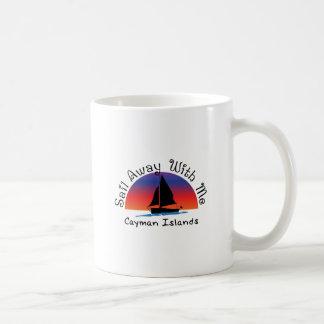 Sail away with me Cayman Islands. Coffee Mug