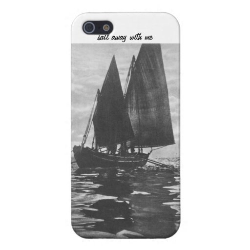 """""""Sail Away With Me"""" iPhone Case iPhone 5 Cases"""