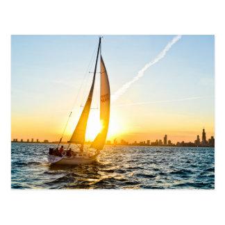 Sail Away With Me Postcard