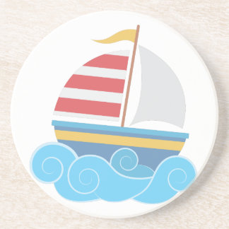 Sail Boat Beverage Coaster