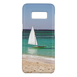 Sail boat by the beach Case-Mate samsung galaxy s8 case
