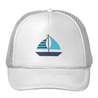Sail Boat Cap