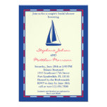 Sail Boat Couple's Bridal Shower Invitation