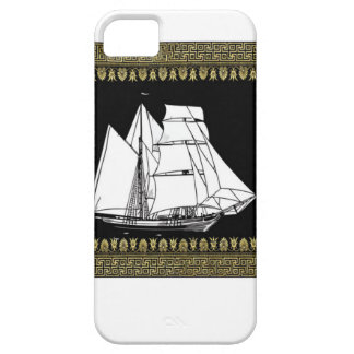 sail boat in the water case for the iPhone 5