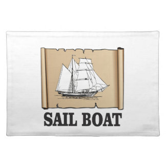 sail boat of joy placemat