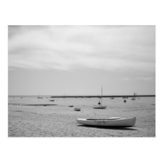 Sail Boat On Provincetown Beach Post Cards