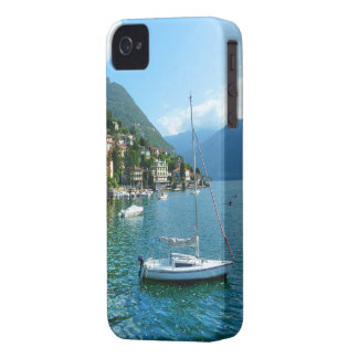 Sail Boat on the Lake Como Case-Mate iPhone 4 Cases
