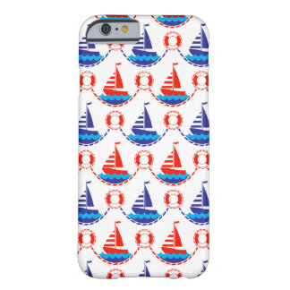 Sail Boat Pattern Barely There iPhone 6 Case