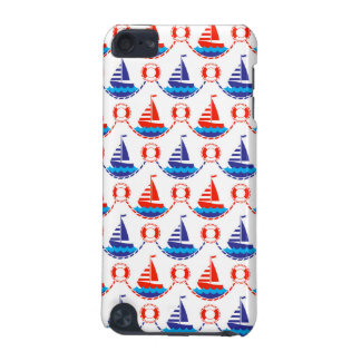 Sail Boat Pattern iPod Touch 5G Cases