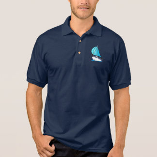 Sail Boat Polo Shirt