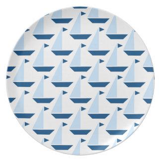 Sail Boat Print Plate