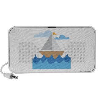 Sail Boat iPod Speaker