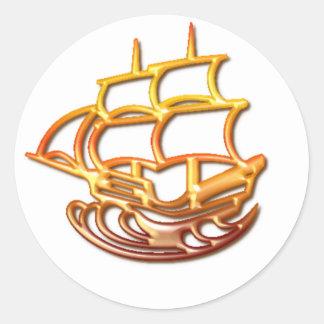 Sail Boat Sticker