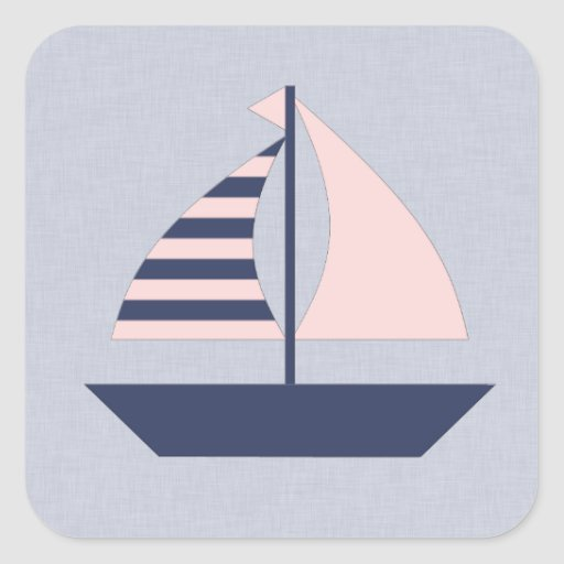 Sail Boat Stickers