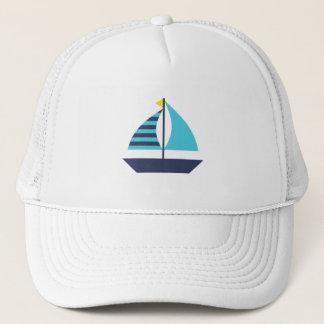 Sail Boat Trucker Hat