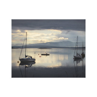Sail Boat Wrapped Canvas