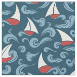 Sail Boats Fabric