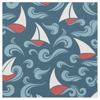Sail Boats Fabric
