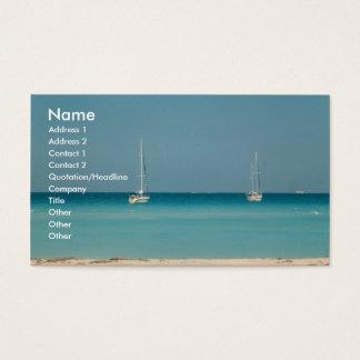 Sail Boats Ocean Sanibel Island Florida Card Photo