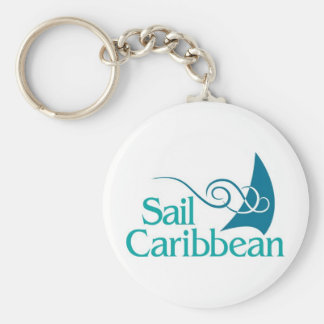 Sail Caribbean Keychain