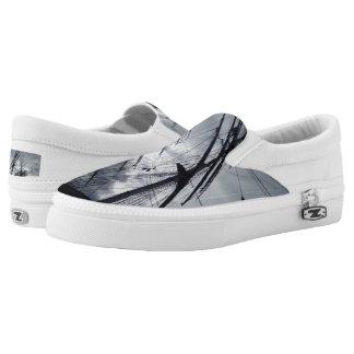 Sail Custom Zipz Slip On Shoes,  Men & Women Printed Shoes