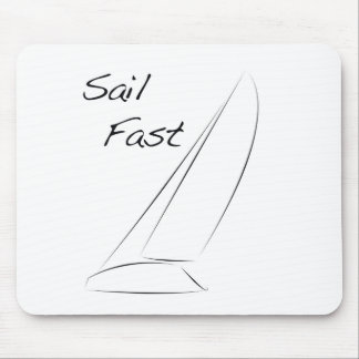 Sail Fast Mouse Pad