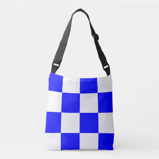 Sail Flag Letter N November Nautical Pattern Crossbody Bag