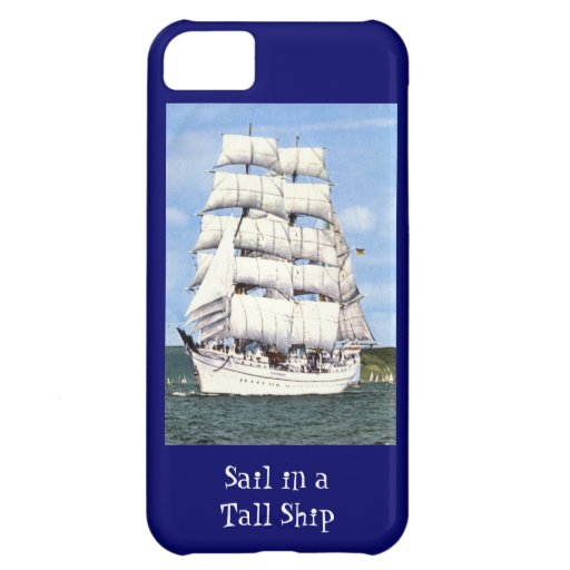 Sail in a tall ship iPhone 5C cover