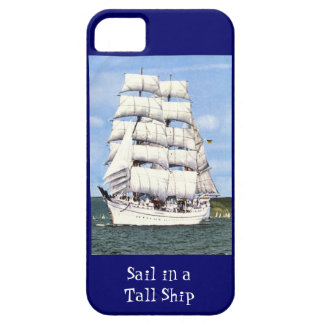 Sail in a tall ship iPhone 5 cover