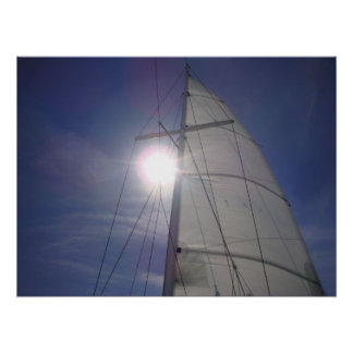 Sail in the Sun Poster