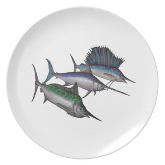 Sail into the Abyss Dinner Plate