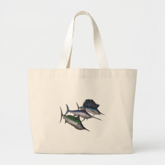 Sail into the Abyss Large Tote Bag