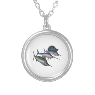 Sail into the Abyss Silver Plated Necklace