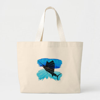 SAIL IS UP LARGE TOTE BAG
