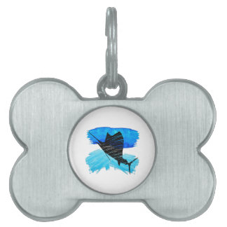 SAIL IS UP PET NAME TAG