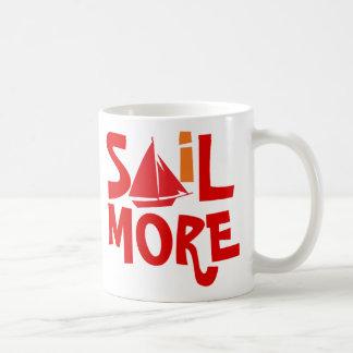 Sail More Work Less Coffee Mug