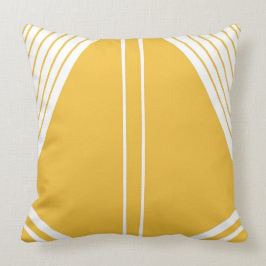 39 sail 39 mustard yellow abstract design throw pillow zazzle. Black Bedroom Furniture Sets. Home Design Ideas